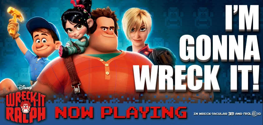 Wreck-It Ralph Movie Review, Now in Theaters!