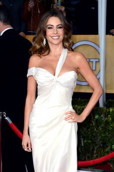 Step-by-Step Details of Sofia Vergara's Look at Screen Actors Guild Awards 2013