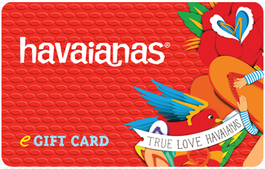 havaianas gift card
