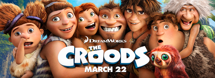 DreamWorks The Croods Movie Review!