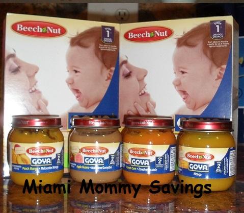 *NEW* Beech-Nut Goya Baby Foods #Review! #BeechnutGoya