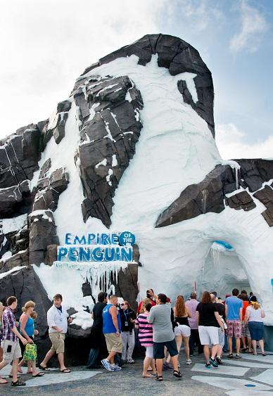 SeaWorld Orlando Opens Antarctica: Empire of the Penguin