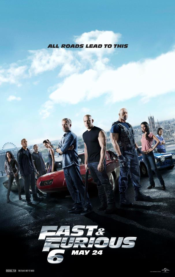 Fast & Furious 6 Movie Review #Fast6 @FastFurious