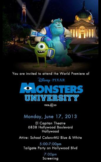 Official invite