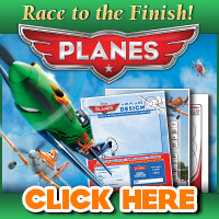 PLANES – Race to the Finish Printable Activity Sheets, in Theaters August 9, 2013! #DisneyPlanes