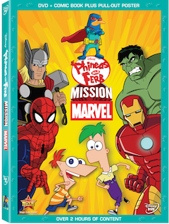Phineas and Ferb: Mission Marvel on Disney DVD October 1, 2013!