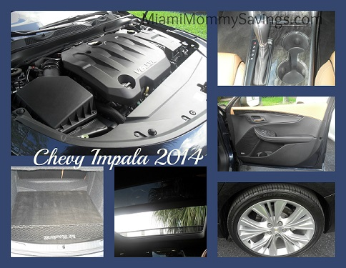 Chevy Impala 2014 features Collage