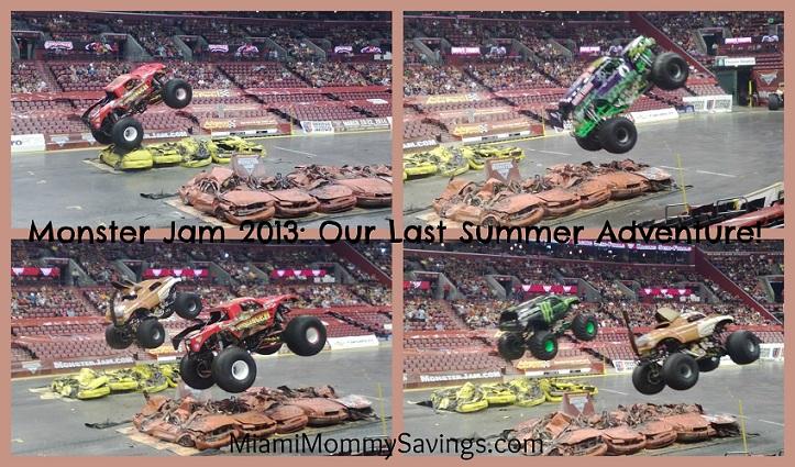 Monster Jam Trucks Collage