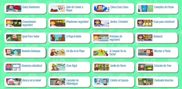 Spanish games online