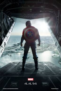 Captain America: The Winter Solider   *NEW* Poster, in theaters 4/4/14! #CaptainAmerica