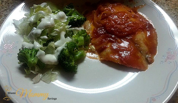 Savory Tuesdays: Baked Fish Fillet in Red Sauce and White Wine!