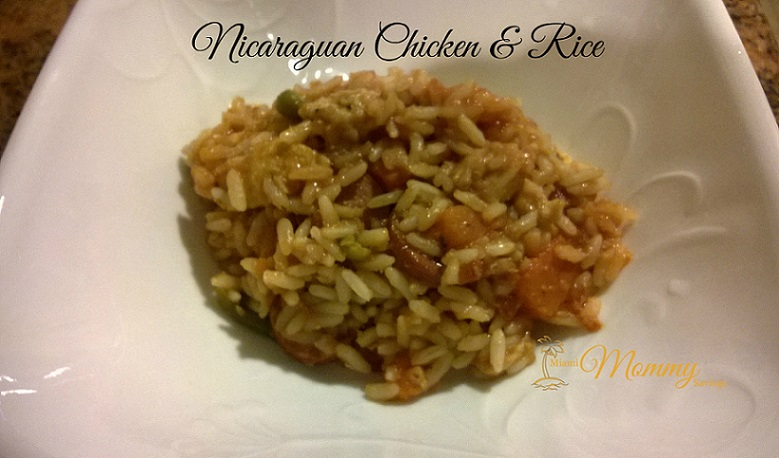 Savory Tuesdays: Nicaraguan Chicken and Rice or Arroz a la valenciana Nicaraguense!