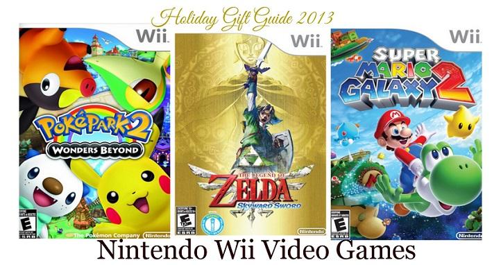 Nintendo Wii Video Games: PokéPark 2: Wonders Beyond, The Legend of Zelda: Skyward Sword & Super Mario Galaxy 2 Review! {Holiday Gift Guide 2013}