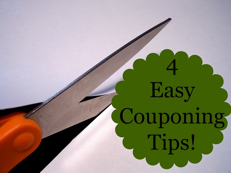 4 Easy Couponing Tips!