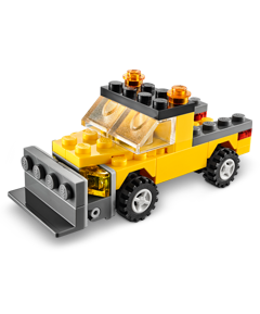 Lego Store: Build a FREE LEGO Snowplow Monthly Mini Model