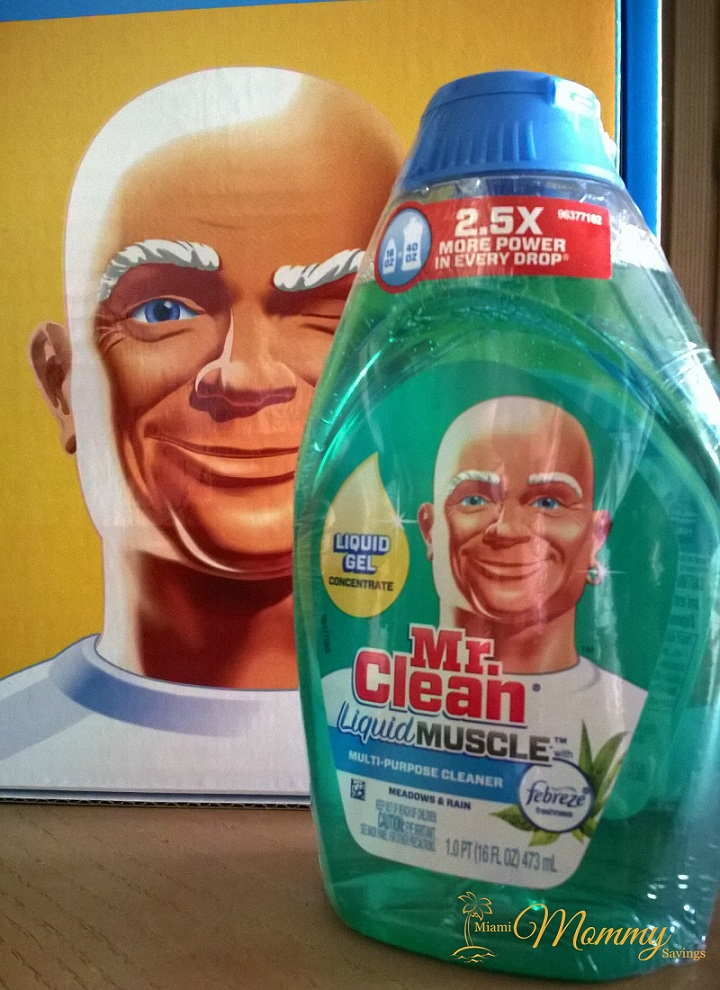 Mr. Clean Liquid Muscle Review! #MrCleanMorePower
