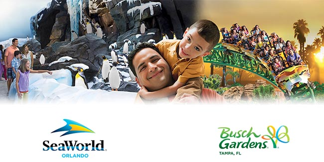 Seaworld 50th celebration 50 weekday tickets available - Busch gardens florida resident pass ...