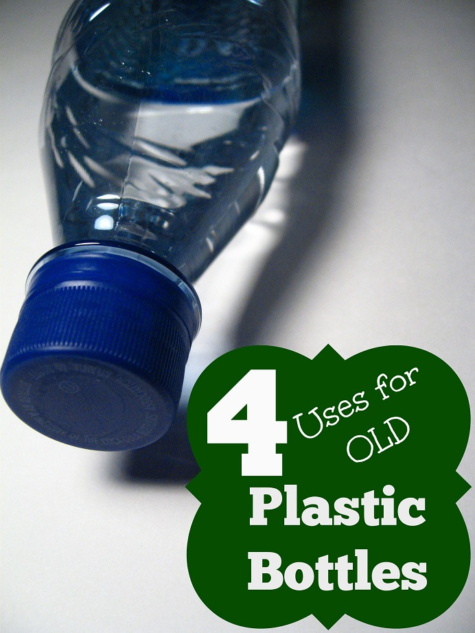4 Uses for Old Plastic Bottles!