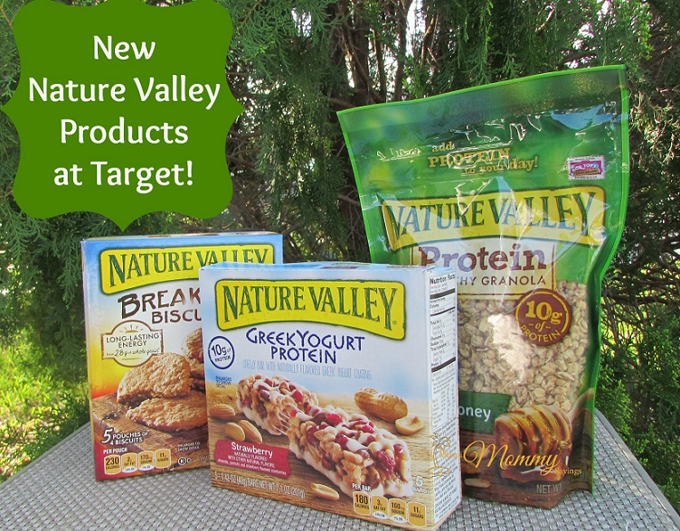 New Nature Valley Products at Target!