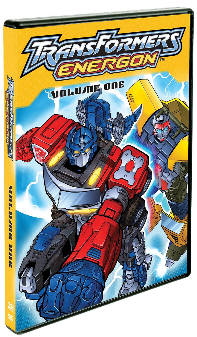 Transformers Energon Volume One DVD Review! {Summer Guide}
