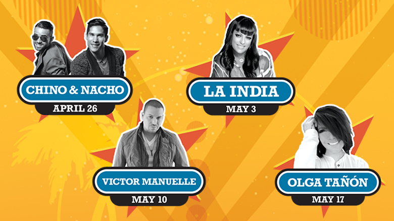 SeaWorld Orlando Viva la Música Festival 2014 Through May 17, 2014! #vivalamusica