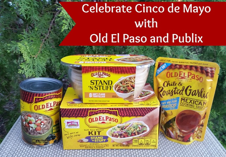 Celebrate Cinco de Mayo with Old El Paso and Publix! #CincoDeMayo #PlatefullCoOp