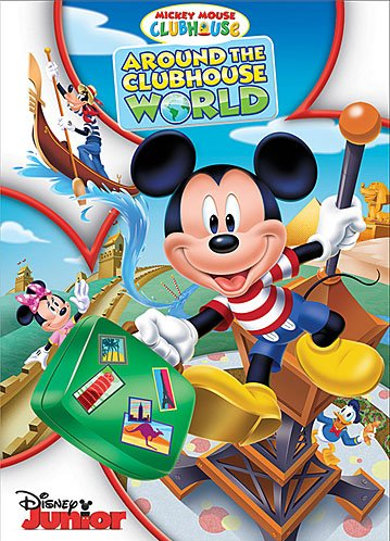 Mickey Mouse Clubhouse: Around the Clubhouse World DVD Review! {Summer Gift Guide}