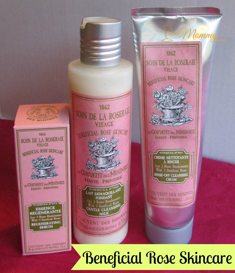 Le Couvent des Minimes Beneficial Rose Skincare Products Review! {Summer Gift Guide}