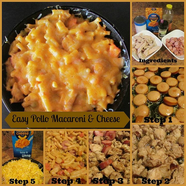 Easy-Pollo-Macaroni-&-Cheese-#GolazoKraft-#CollectiveBia-Miami-Mommy-Savings