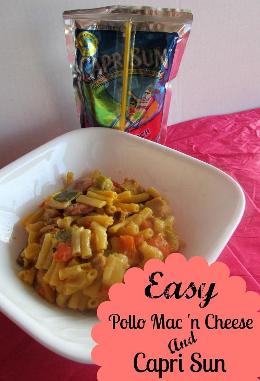 Easy-Pollo-Macaroni-and-Cheese-and-Capri-Sun-#GolazoKraft-#CollectiveBias-Miami-Mommy-Savings