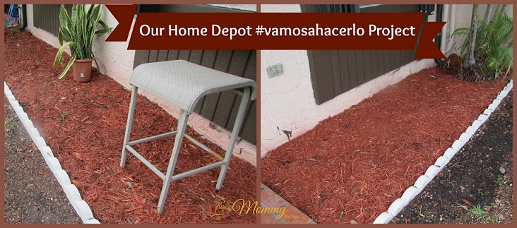 Our @HomeDepot #VamosAHacerlo Project + Tips on Using Recycle Materials in Your Garden!