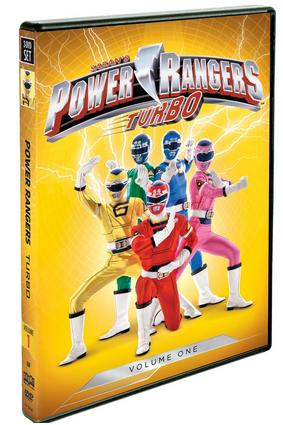 Power Rangers Turbo: Volume 1 DVD Review! {Summer Gift Guide}