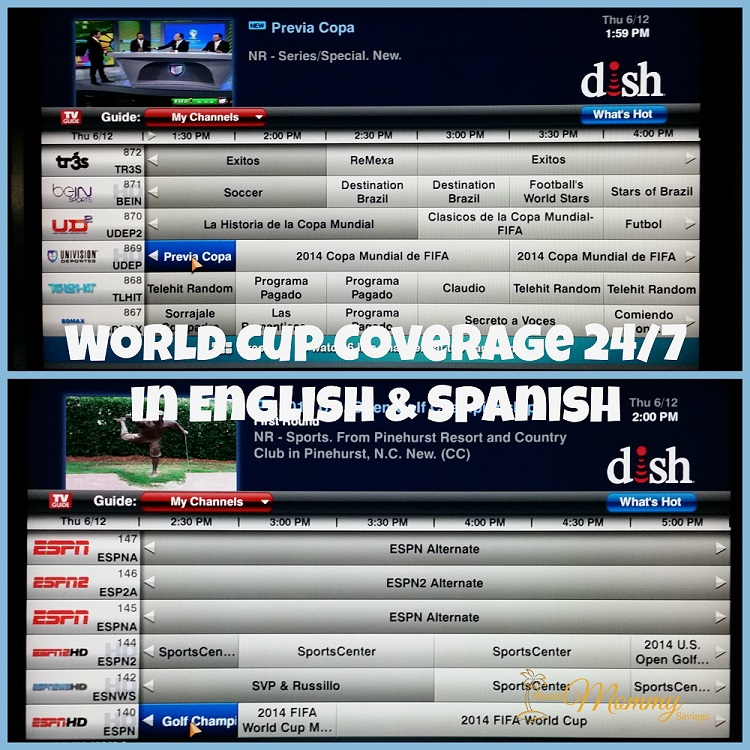 Catch our spanish live stream to get coupons