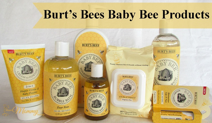 Burt's Bees Baby Bee Products: Soften and Soothe Baby's Skin!
