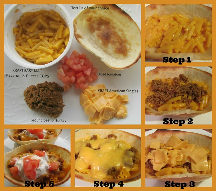Kraft-Macaroni-&-Cheese-Tacos-Easy-Summer-Recipe-Step-By-Step-Miami-Mommy-Savings