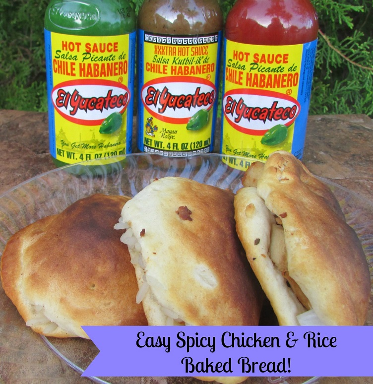 Easy-Spicy-Chicken-&-Rice-Baked-Bread-Miami-Mommy-Savings