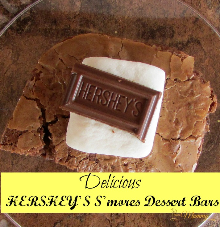 Delicious Hershey's S'mores Dessert Bars!