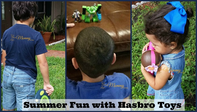 Summer Fun with Hasbro Toys!