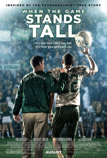 When The Game Stands Tall Miami Screenings August 12, 13 & 14!