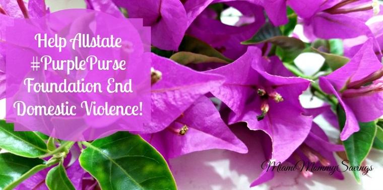 Help Allstate #PurplePurse Foundation End Domestic Violence!