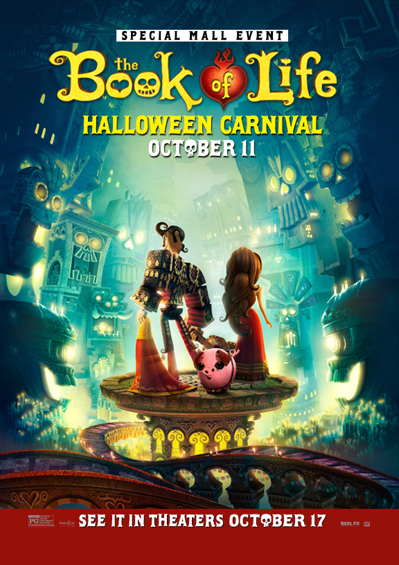 The Book of Life Halloween Carnival on October 11, 2014 at Dolphin Mall!