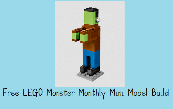 Lego Store: Build a FREE LEGO Monster Mini Model Build, Tonight 10/7 ONLY!