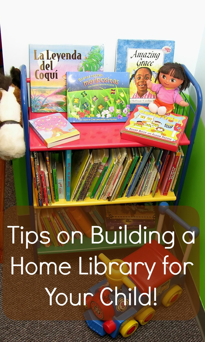 Tips On Building A Home Library For Your Child Cleverly