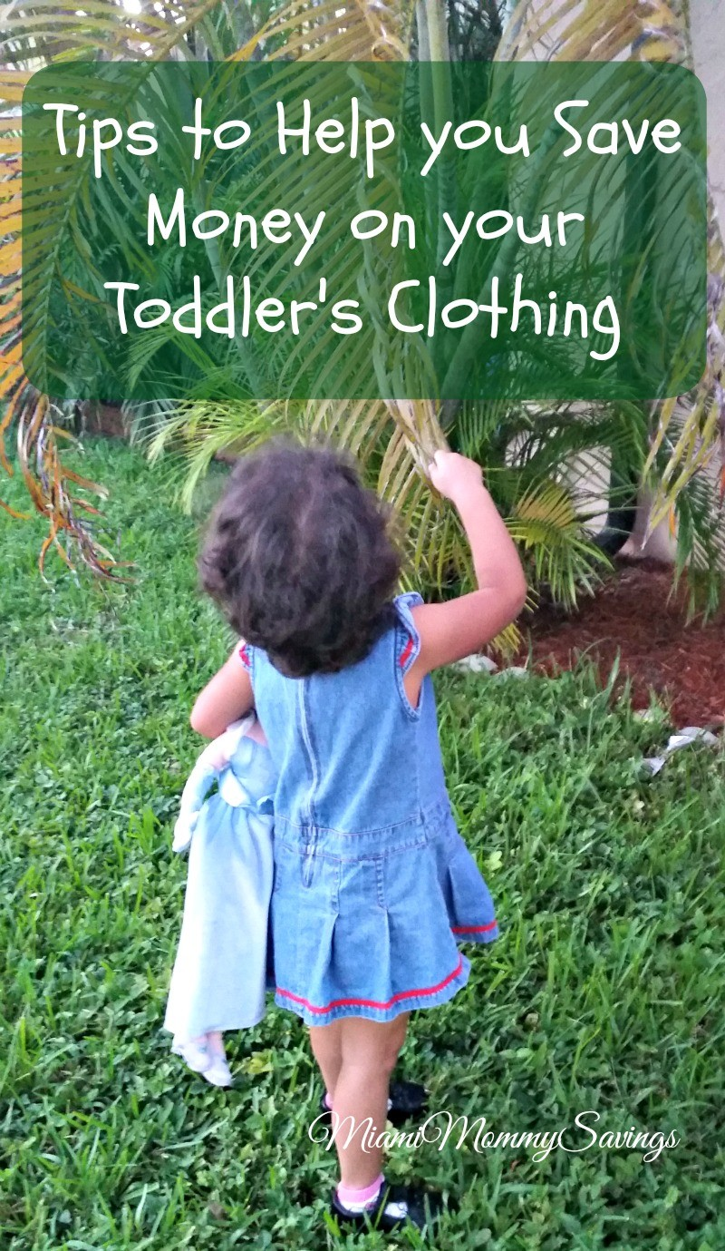 Tips to Help you Save Money on your Toddler's Clothing!
