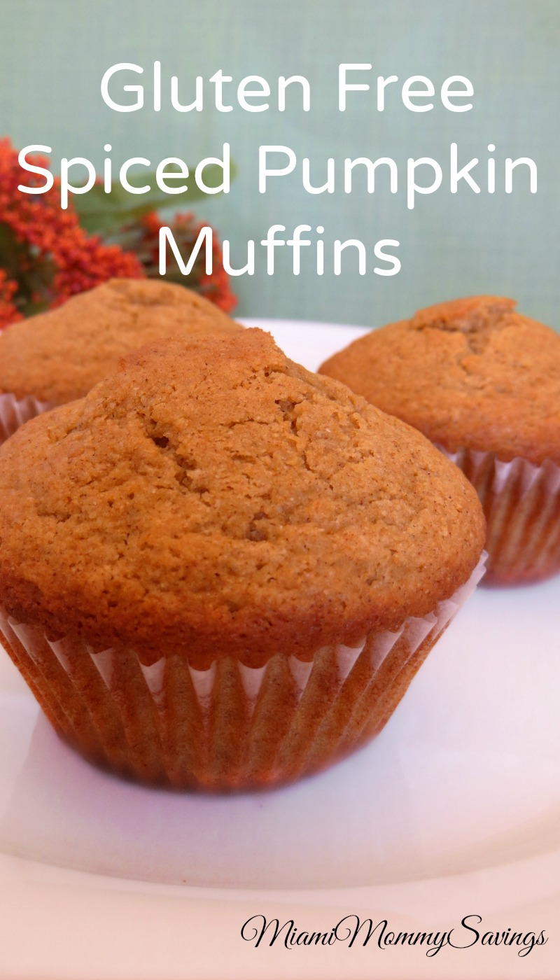 Try this Gluten Free Spiced Pumpkin Muffins Recipe and enjoy the ...