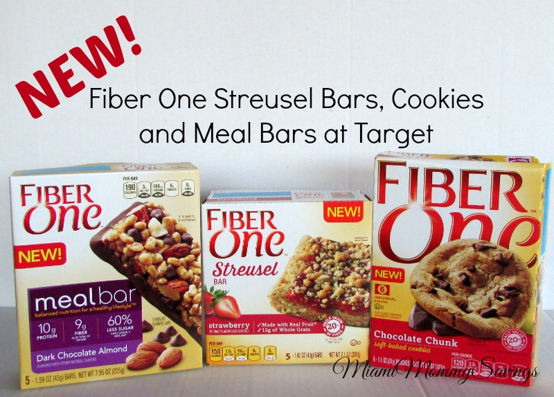New Fiber One Streusel Bars, Cookies and Meal Bars at Target #FiberOne