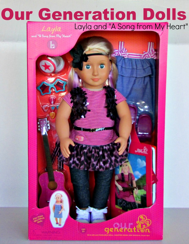 """Our Generation Dolls: Layla and """"A Song from My Heart ..."""