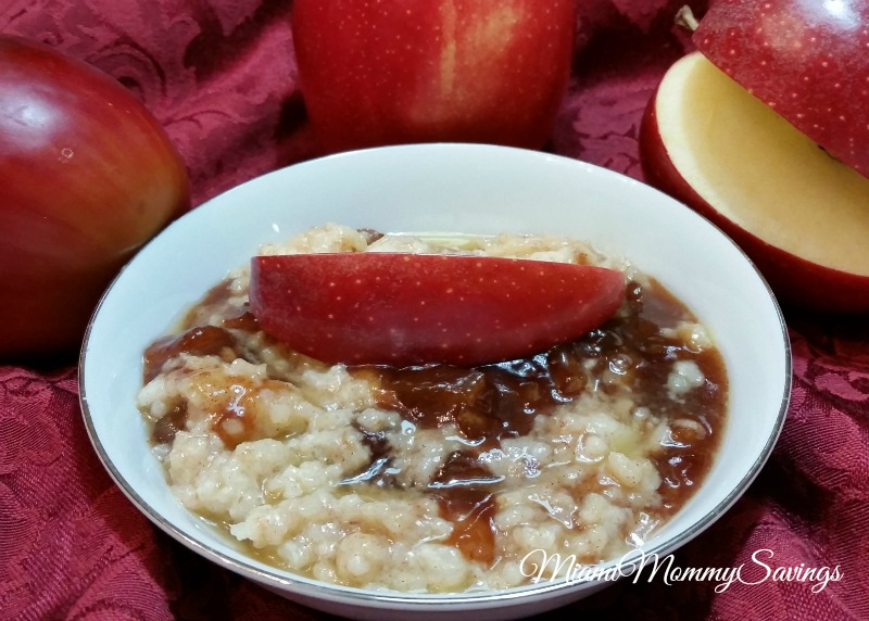 Rice Pudding with Caramelized Apples Recipe! #GladeHolidayMood