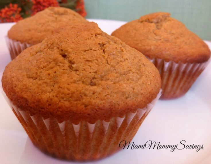 Gluten Free Spiced Pumpkin Muffins Recipe