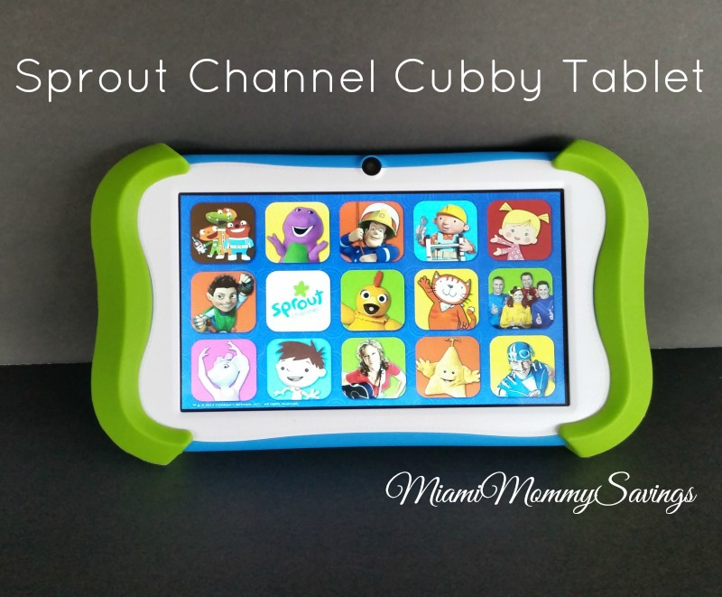 Learn and Have Fun with Sprout Channel Cubby Tablet! {Holiday Gift Guide 2014}